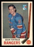 1969 O-Pee-Chee #42  Jean Ratelle  Front Thumbnail
