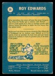1969 O-Pee-Chee #56  Roy Edwards  Back Thumbnail