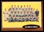 1962 Topps #132 NRM  Angels Team Front Thumbnail