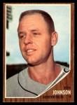 1962 Topps #278  Ken Johnson  Front Thumbnail