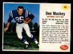 1962 Post #80  Dee Mackey  Front Thumbnail