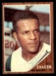 1962 Topps #256  Elio Chacon  Front Thumbnail