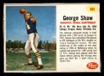 1962 Post #183  George Shaw  Front Thumbnail