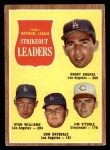 1962 Topps #60   -  Sandy Koufax / Stan Williams / Don Drysdale / Jim O'Toole NL Strikeout Leaders Front Thumbnail