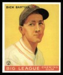 1933 Goudey Reprint #28  Dick Bartell  Front Thumbnail