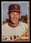 1962 Topps #11  Tom Morgan  Front Thumbnail