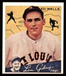 1934 Goudey Reprint #73  Ed Wells  Front Thumbnail