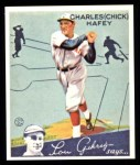 1934 Goudey Reprint #34  Chick Hafey  Front Thumbnail