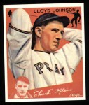 1934 Goudey Reprint #86  Lloyd Johnson  Front Thumbnail