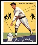 1934 Goudey Reprint #29  Larry French  Front Thumbnail