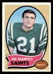 1970 Topps #193  Joe Scarpati  Front Thumbnail
