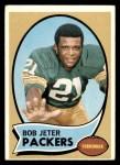 1970 Topps #182  Bob Jeter  Front Thumbnail