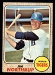 1968 Topps #78  Jim Northrup  Front Thumbnail
