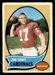 1970 Topps #177  Jim Hart  Front Thumbnail