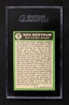 1967 Topps #593  Wes Westrum  Back Thumbnail
