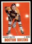 1970 Topps #2  Johnny Bucyk  Front Thumbnail