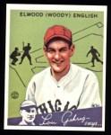 1934 Goudey Reprint #4  Woody English  Front Thumbnail