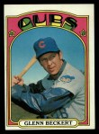 1972 Topps #45 GRN Glenn Beckert  Front Thumbnail
