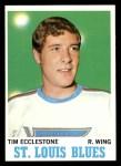 1970 Topps #102  Tim Ecclestone  Front Thumbnail
