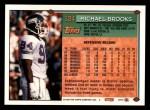 1994 Topps #124  Michael Brooks  Back Thumbnail