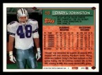 1994 Topps #59  Daryl Johnston  Back Thumbnail
