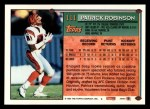 1994 Topps #111  Patrick Robinson  Back Thumbnail