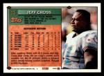 1994 Topps #13  Jeff Cross  Back Thumbnail