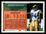 1994 Topps #25  Troy Drayton  Back Thumbnail