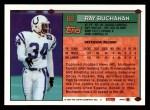 1994 Topps #68  Ray Buchanan  Back Thumbnail