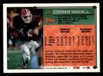 1994 Topps #44  Tommy Vardell  Back Thumbnail