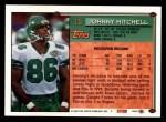 1994 Topps #15  Johnny Mitchell  Back Thumbnail