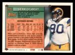 1994 Topps #276  Sean Gilbert  Back Thumbnail