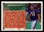 1994 Topps #235  John Elliott  Back Thumbnail