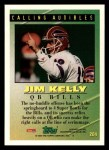 1994 Topps #204   -  Jim Kelly Tools of the Game Back Thumbnail