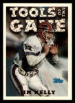 1994 Topps #204   -  Jim Kelly Tools of the Game Front Thumbnail