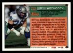 1994 Topps #253  Bill Hitchcock  Back Thumbnail