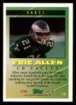 1994 Topps #197   -  Eric Allen Tools of the Game Back Thumbnail