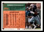 1994 Topps #271  Greg Townsend  Back Thumbnail