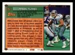 1994 Topps #261  Mark Tuinei  Back Thumbnail