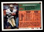 1994 Topps #285  Quinn Early  Back Thumbnail