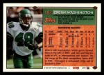 1994 Topps #192  Brian Washington  Back Thumbnail