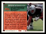 1994 Topps #177  Steve Wisniewski  Back Thumbnail