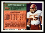 1994 Topps #299  Andre Collins  Back Thumbnail