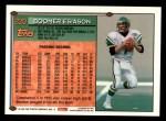 1994 Topps #220  Boomer Esiason  Back Thumbnail