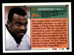 1994 Topps #284  Courtney Hall  Back Thumbnail