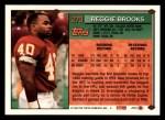 1994 Topps #270  Reggie Brooks  Back Thumbnail
