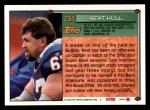1994 Topps #234  Kent Hull  Back Thumbnail