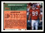 1994 Topps #229  Shane Dronett  Back Thumbnail