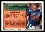 1994 Topps #157  Todd Collins  Back Thumbnail