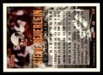 1994 Topps #319  Steve Beuerlein  Back Thumbnail